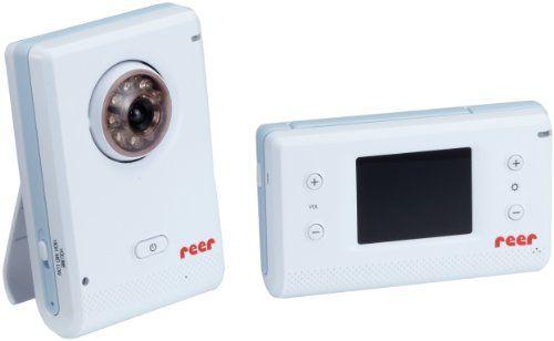 Reer 8006 Digitales Babyphon, Wega mit Kamera