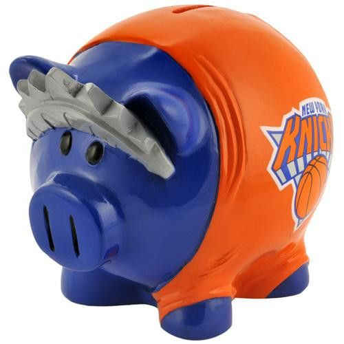 New York Knicks NBA Team Thematic Piggy Bank (Large)
