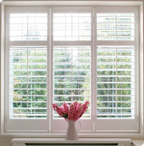 Cant wait to get plantation shutters in my house and get rid of the ugly vertical blinds. Gotta save my pennies!!