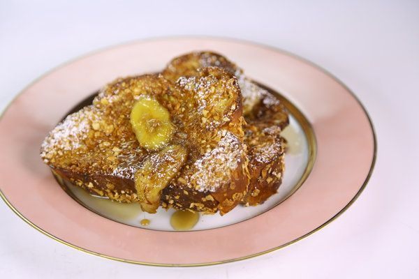 Cornflake Crusted French Toast by Michael Symon