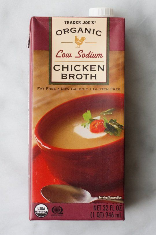Make sure to get low sodium.  Use in soups, mashed potatoes and to thin out anything else savory.