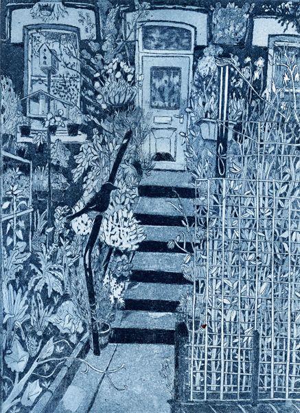 """House and Garden, Harehills (Leeds)"" by Janis Goodman"