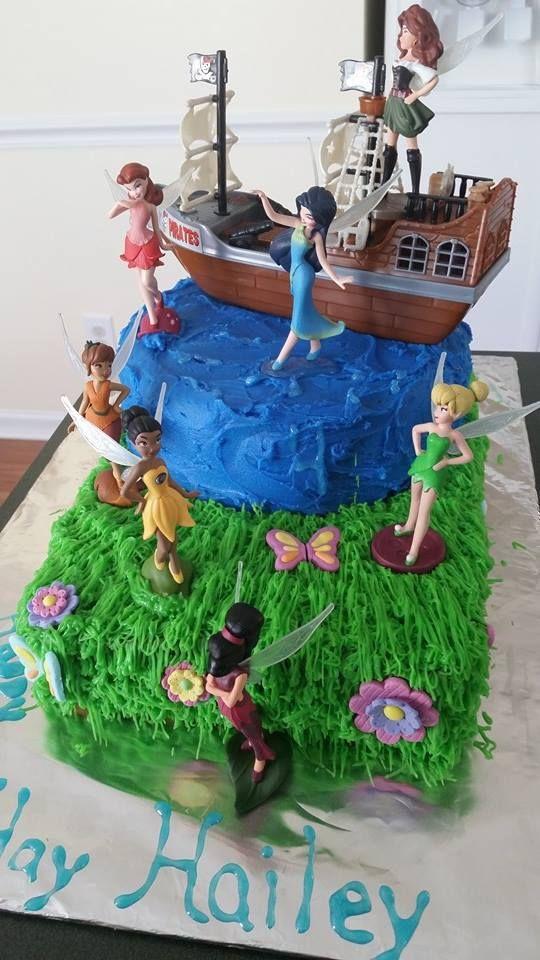 Pirate Fairy Cake