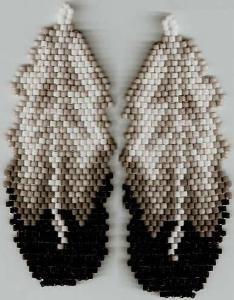 Starr Design Studio - Eagle Feather Earrings