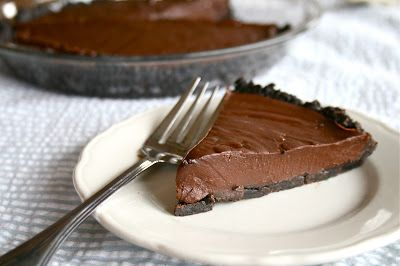 Double Chocolate Silk Cream Pie {a.k.a. the pie that got me married!}   Lauren's Latest