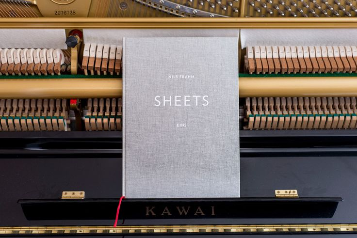 Nils Frahm – Sheets Eins (Deluxe Hardback Book) for 10 Songs incl. Download. 'A very beautiful sort of artefact' - Monocle