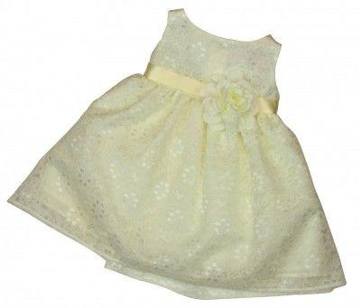 Kleid taufe langarm