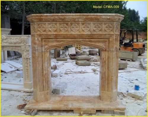 Details about Customize Your Own Personalized Size NATURAL Marble fireplace@PLS ASK PRICE@