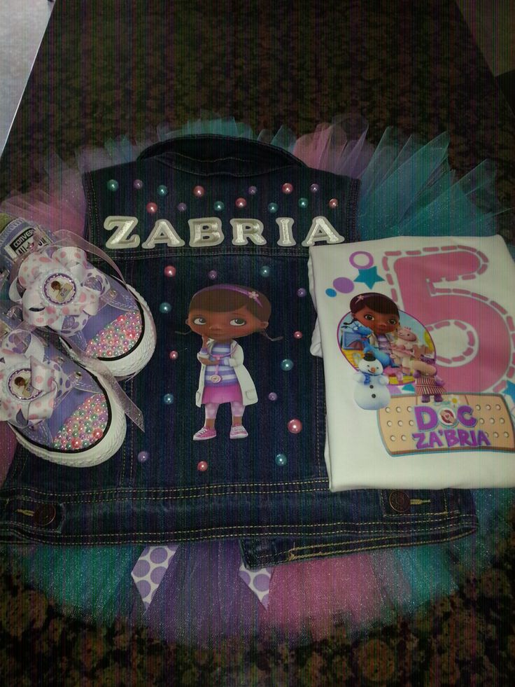 Custom Doc McStuffins Vest Shoes TuTu & Shirt by SheSparklesIt