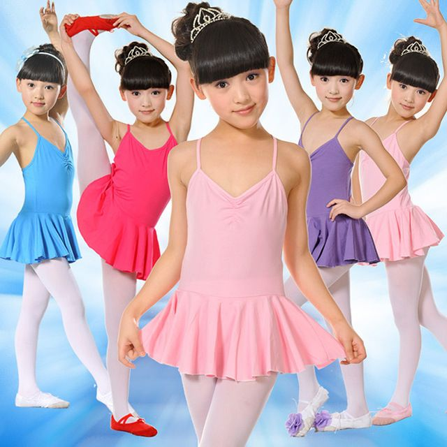 Girls Ballet Dress For Children Girl Dance Clothing Kids Ballet Costumes For Girls Dance Leotard Gymnastics Girl Dancewear 1002
