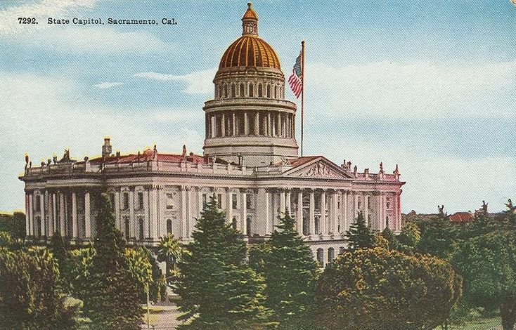 Sacramento State Capitol. Courtesy/© of Heather Anne Johnson.
