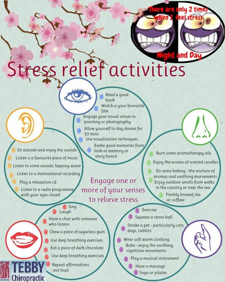 Stress Relief Activity:- Tebby Chiropractic and Sports Medicine Clinic— in Charlotte, NC, United States.