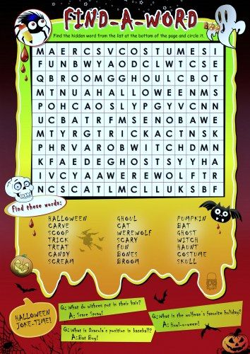 It is a photo of Halloween Word Search Puzzles Printable inside very difficult