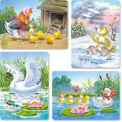 Mondókák ,versek angyal szárnyon: Hans Christian Andersen: A rút kiskacsa