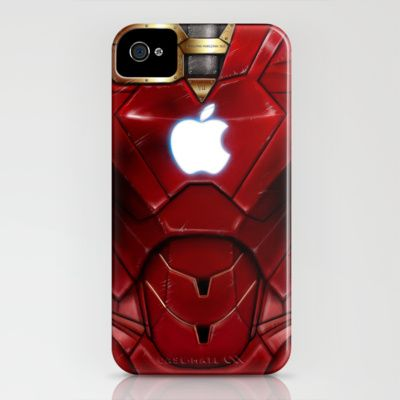 Iron Man iPhone case. Seriously want
