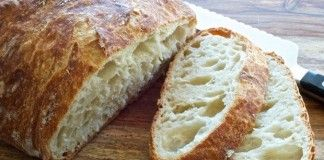 Nejsnadnější domácí chléb připravený už za 30 minut!