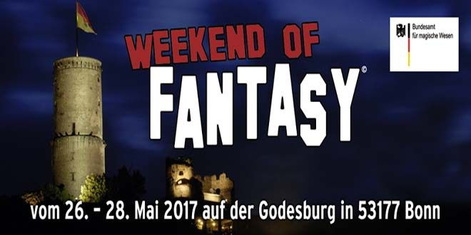 Weekend of Fantasy auf der Godesburg vom 26. - 28. Mai 2017