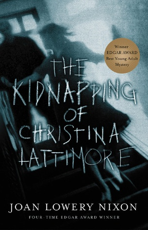 The Kidnapping of Christina Lattimore. I like this font because it just seems creepy and almost like it was scratched into the cover of the book. I feel the overall vibe of the book cover goes well with the book and is set up nicely.