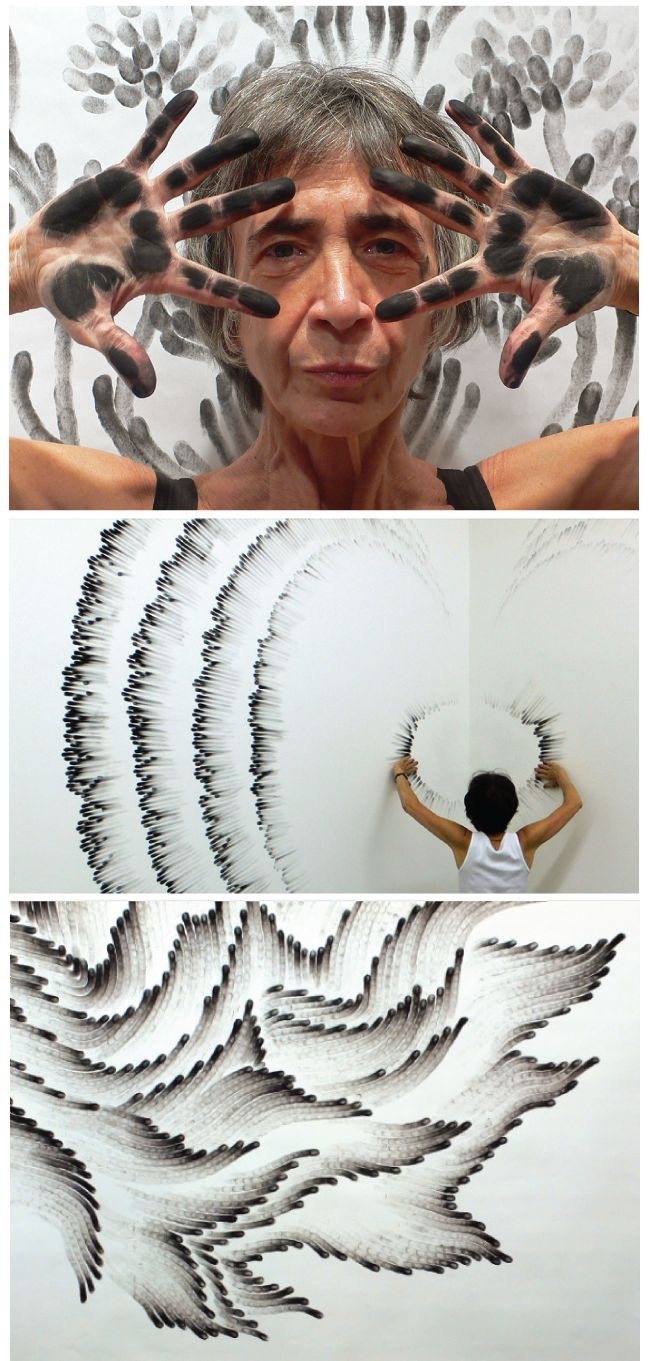 Finger Paintings by Judith Braun, amazing!