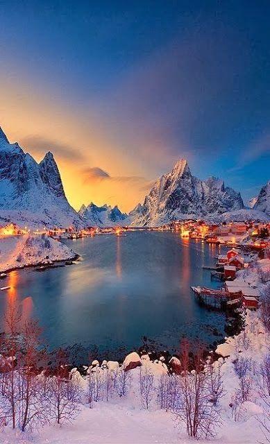 Reine, Norway  . Breathtaking!