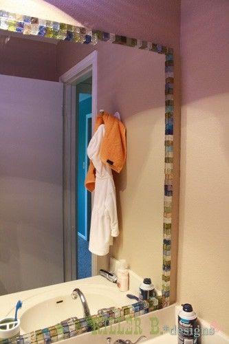diy diy tile bathroom mirrors ideas diy tile bathroom diy mirrors