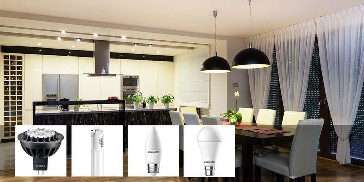 LED Downlights, GLS, Candles, Tubes at LightOnline the Lighting Experts!