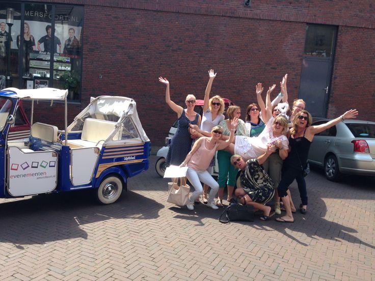 Tuktukpuzzeltocht dwars door Amersfoort als vrouwenuitje ! De 1 & 2 uurs puzzeltocht in en om Amersfoort.