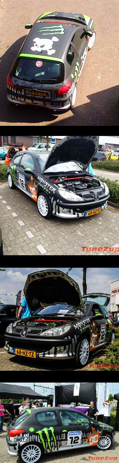 For Sale on TuneZup: ‪#‎Modified‬ ‪#‎Peugeot206‬ ‪#‎GTI‬ ‪#‎monster‬ Edition
