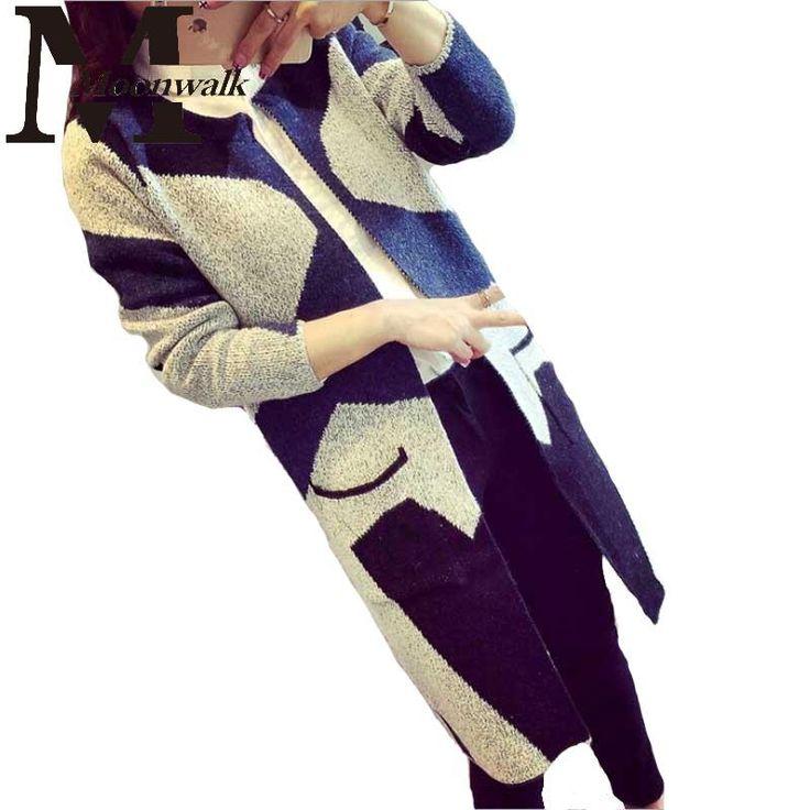 Купить Женская кофта 2015 зима осень мода длинный трикотаж для женщин камуфляж трикотажные свитера женский кардиганы пальто S979и другие товары категории Кардиганыв магазине Moon walk's storeнаAliExpress. трикотаж одежда и трикотаж пуловеры