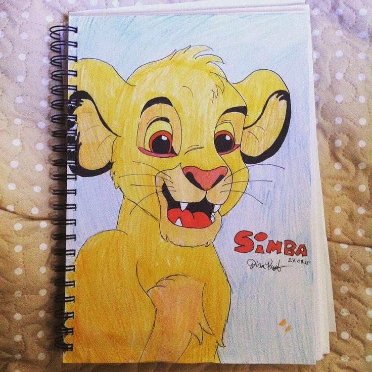 young Simba, Lion King