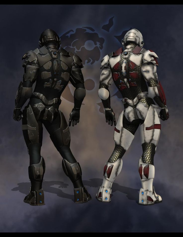 Ying and Yang Brothers One Fights for the Humans The other for Coalition and because they are on different sides they are enemies