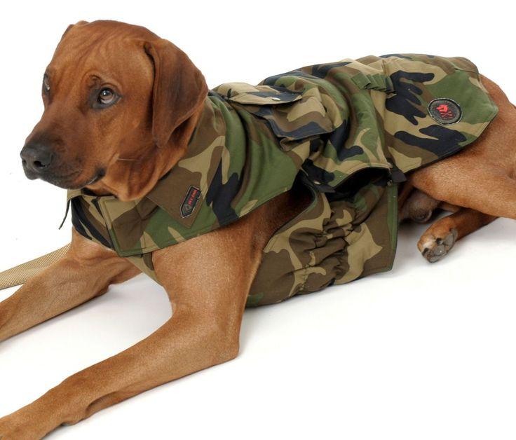 Wolters Camouflage Hundejacke Bild2