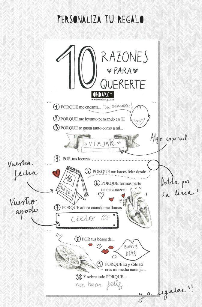 10 razones para amarte Más