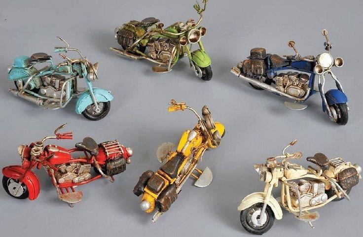 Indian / Harley Davidson Motorcycle Motorbike Tin Toy