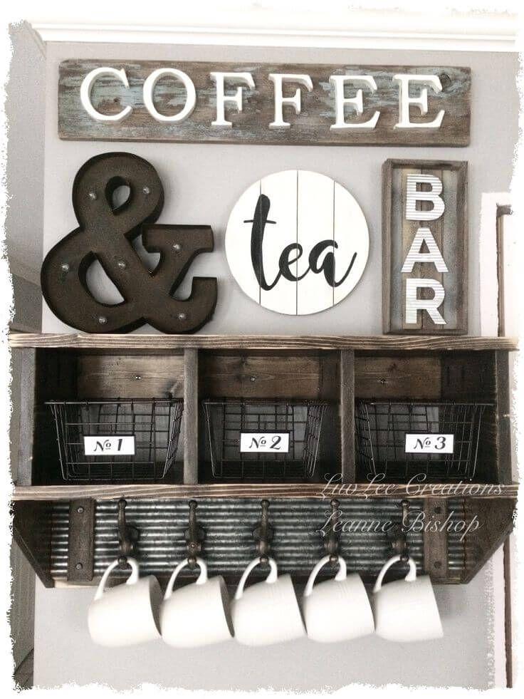 Coffee Kitchen Wall Decor