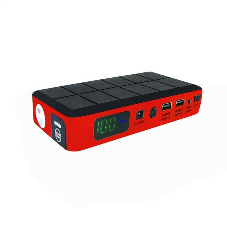 Banco de Potencia de Arranque Salto de emergencia del coche Mini Coche Cargador de Batería de Emergencia Portátil para Gasolina y Diesel