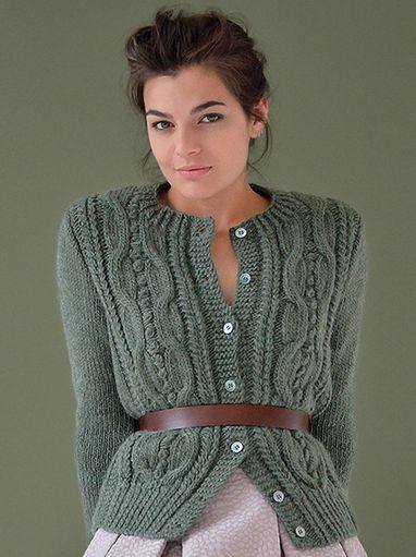 Mild by Kim Hargreaves, from pattern book Still.  Knit in Rowan Cocoon.