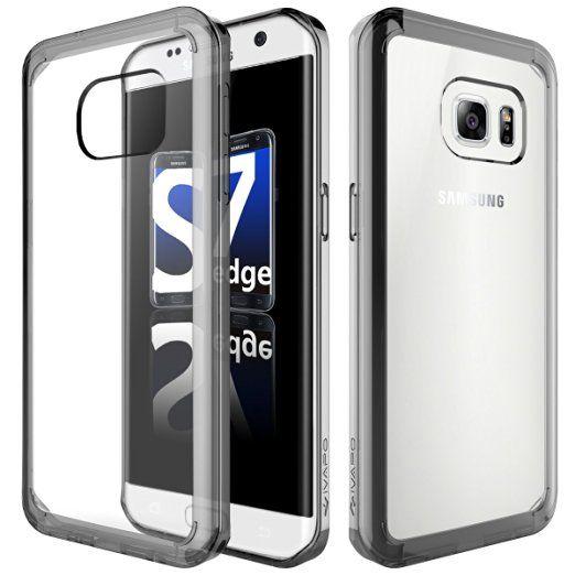 Lopoo Samsung Galaxy S7 Edge Coque Transparente Samsung S7 Edge Silicone Coque…