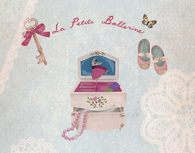 "Check out new work on my @Behance portfolio: ""Ana Sucré : La Petite Ballerine"" http://on.be.net/1M7hvqV"