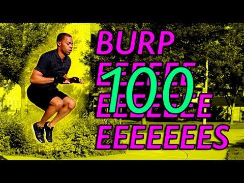 100 Burpee Challenge - Killer Full Body Workout - YouTube