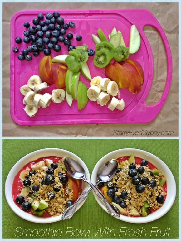 Healthy Choices: A Light Breakfast For 2