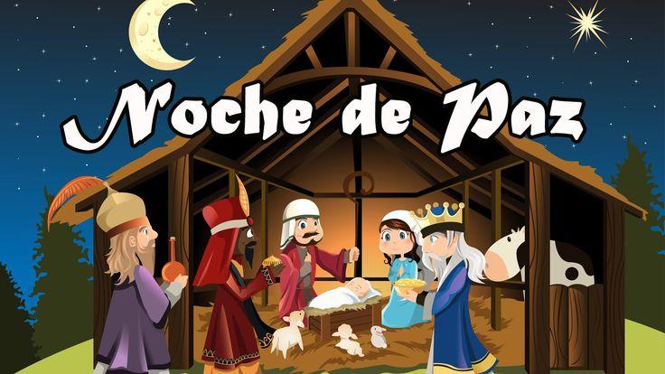 Noche de Paz con Letra - Karaoke Instrumental | Villancicos de Navidad e...
