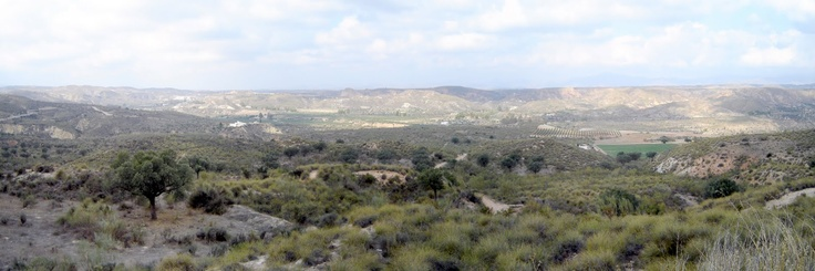 The Karst en Yesos de Sorbas Natural Park is an area for potholing and exploring caves.