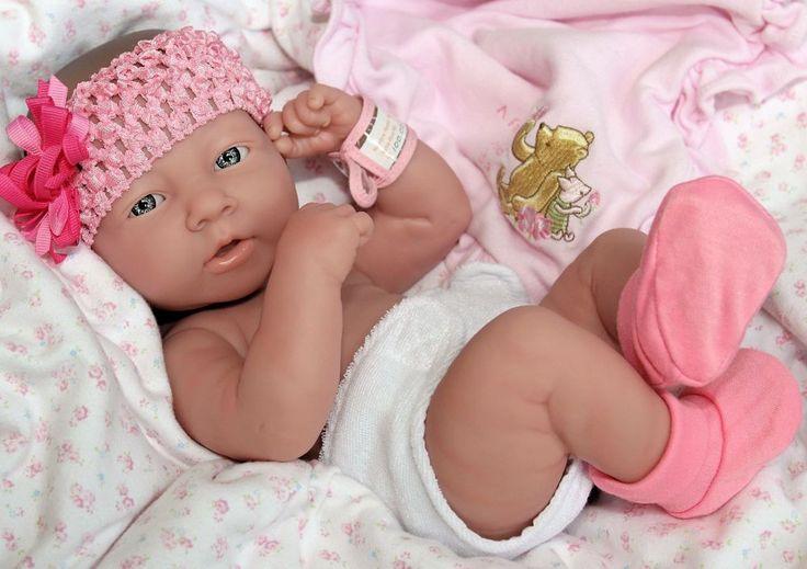 Details About New Precious Preemie Berenguer La Newborn