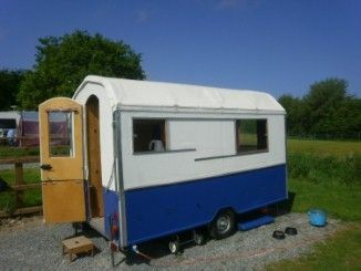 Rob Baker of Derbyshire chats about his caravan, Herbert