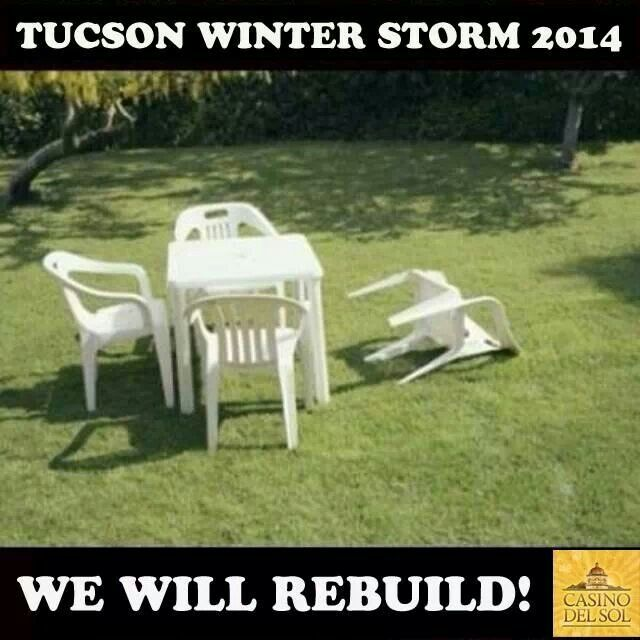 Tucson winter storm