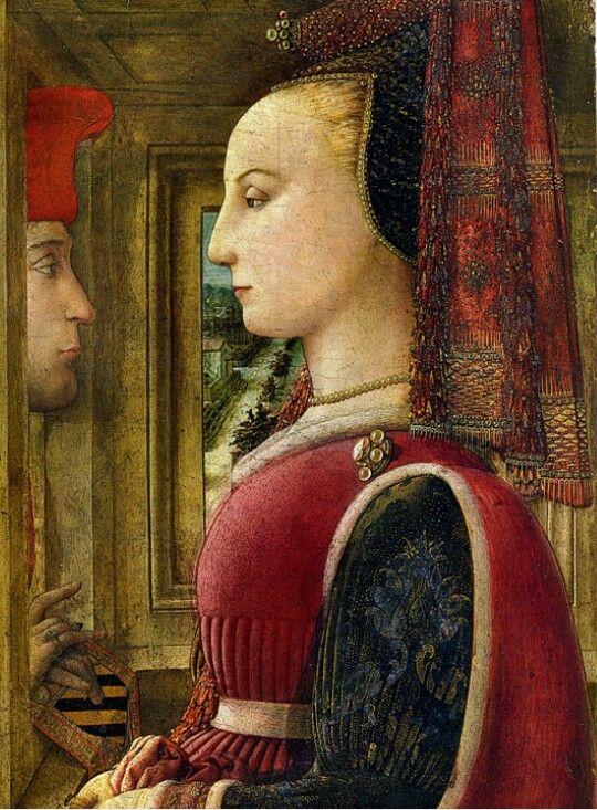 Ritratto di donna alla finestra. Filippo Lippi. 1440. Met