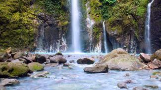 Two Colour Waterfall - Sibolangit - Sumatera