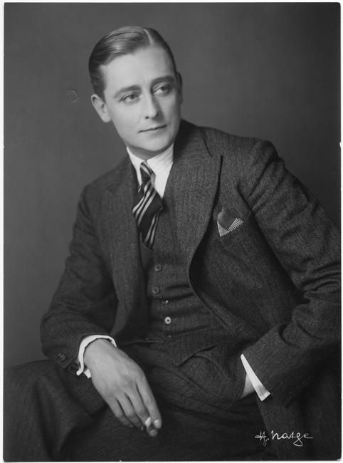 An actor of the 1920's, posing for a photo. Acting became more popular during the 1920's due to the capability of film. I chose this picture because it relates to the advancement and popularity of films.