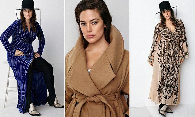 Ashley Graham stars in Fall 2016 campaign for H&M Studio